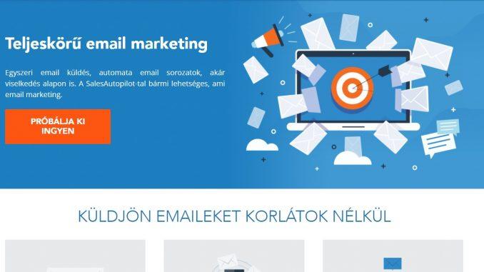 Salesautpilot email marketing szoftver